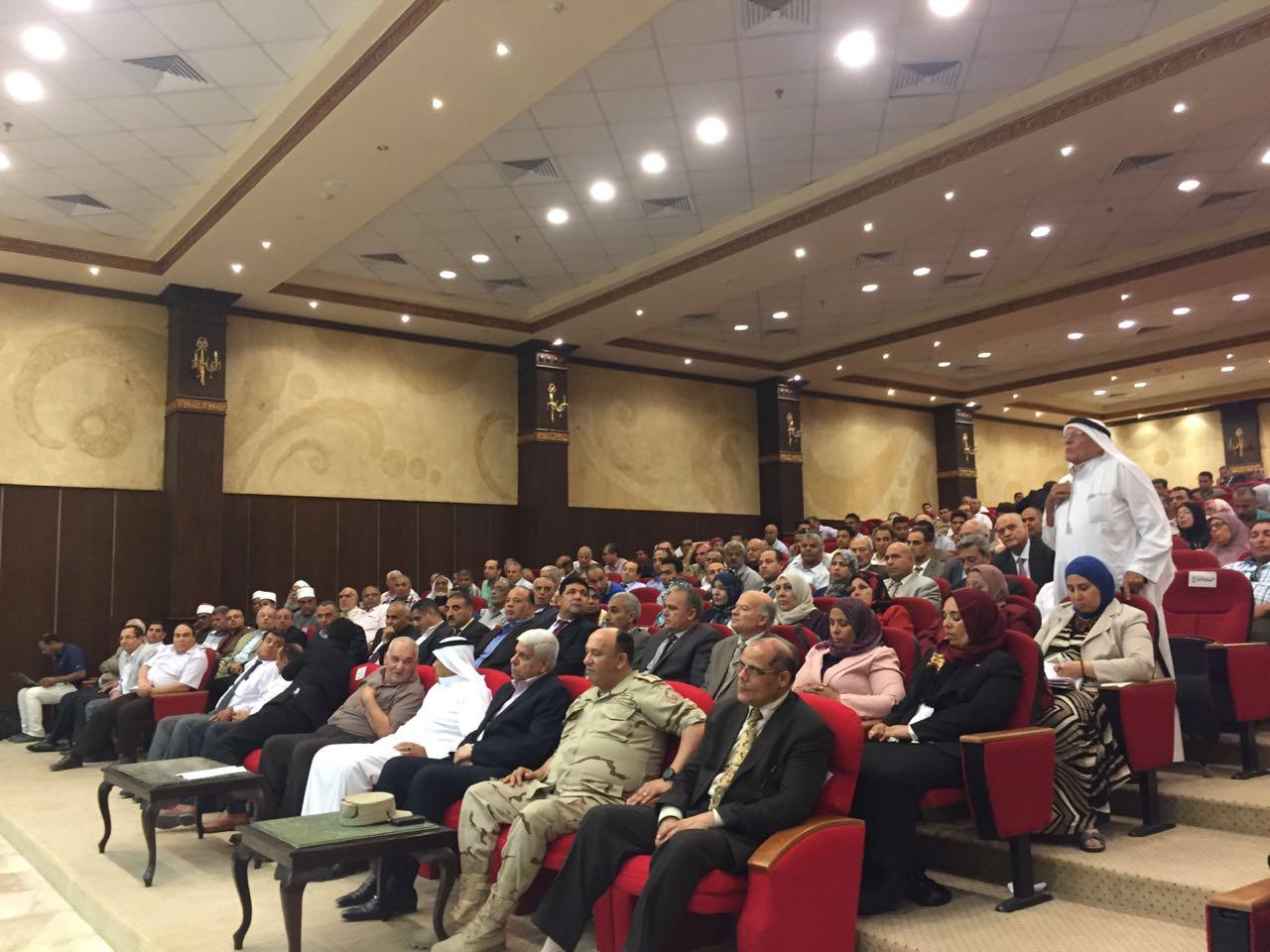 تفاصيل زيارة محلب ووزير التنمية المحلية ومستشار الرئيس للشئون الأمنية لشمال سيناء (18)