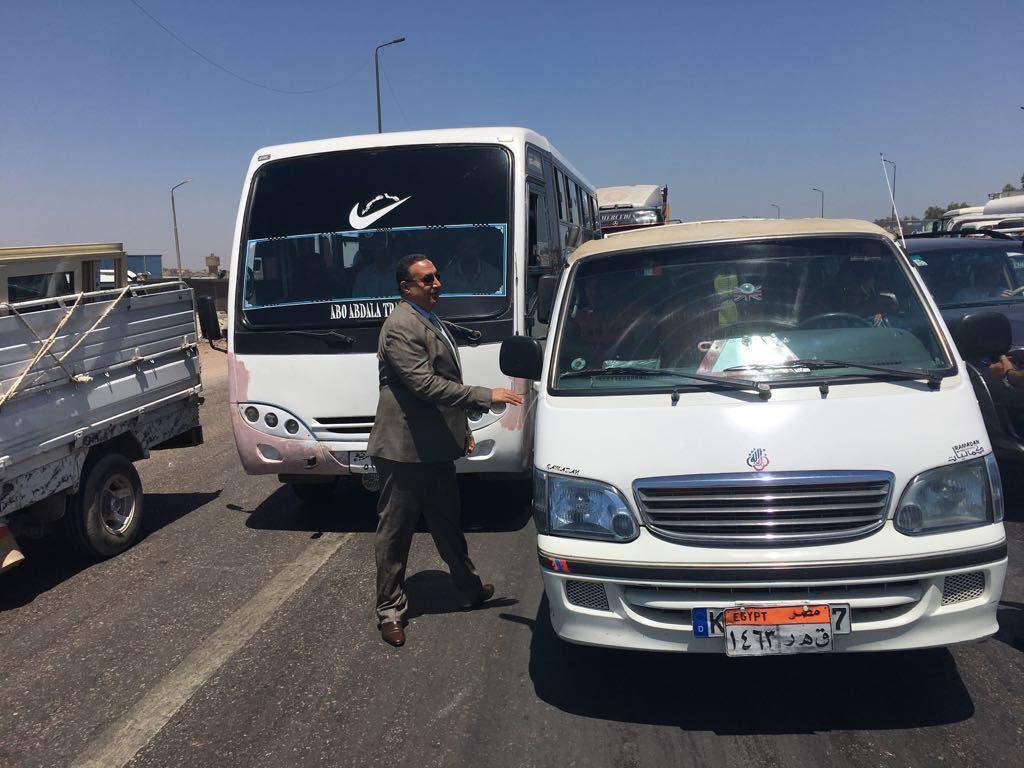 مساعد الوزير للمرور يقود حملات التوعية