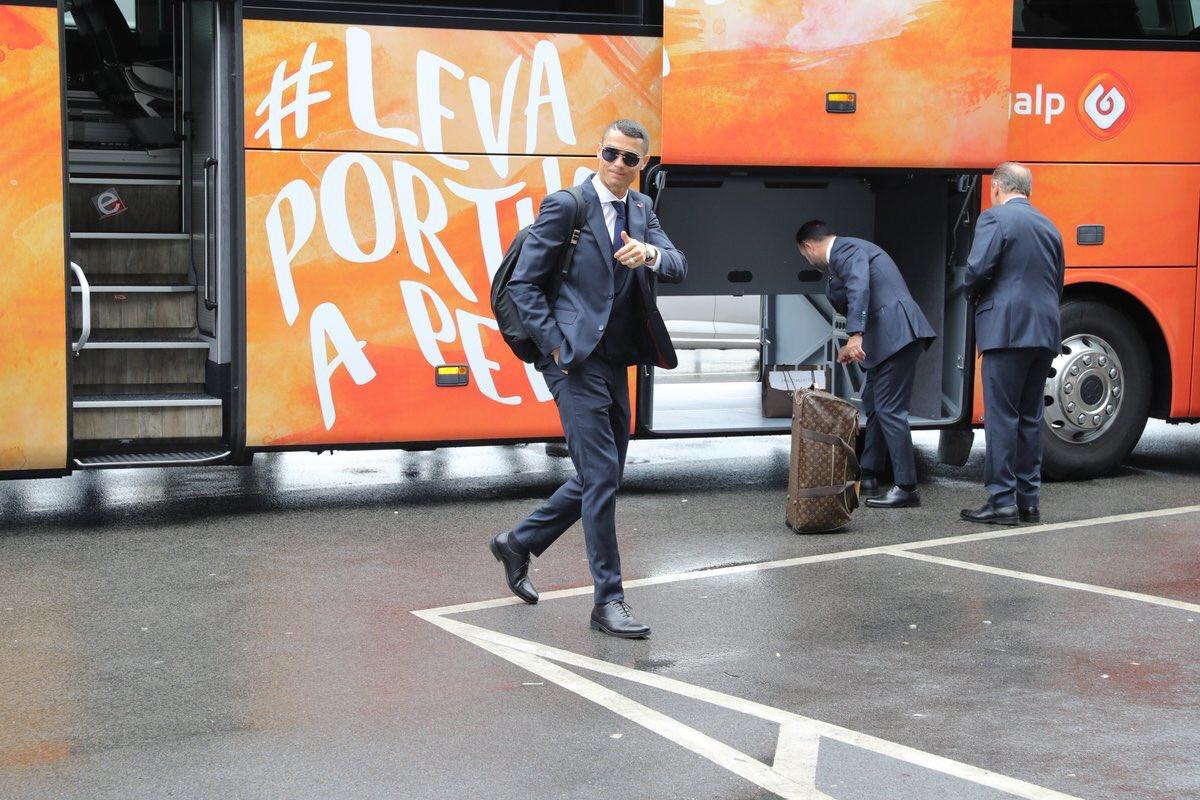 رونالدو نجم المنتخب البرتغال