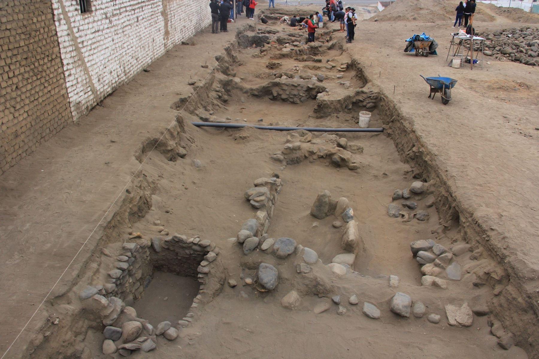 المقبرة المكتشفة
