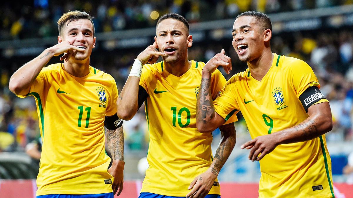 ثلاثى هجوم البرازيل