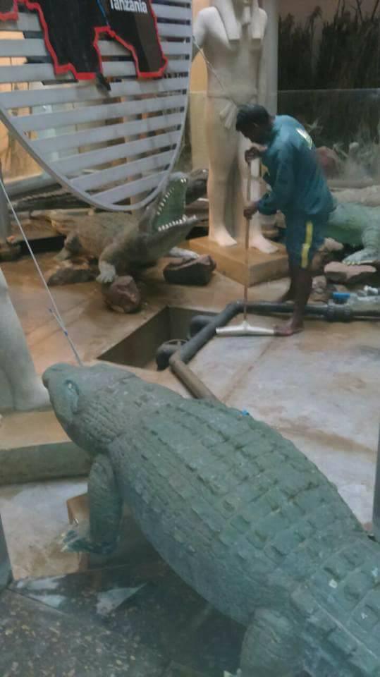 متحف النيل يتجمل لاستقبال زواره