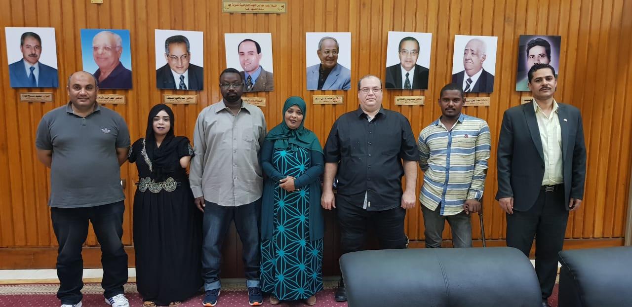 الوفد السودانى باللجنة البارالمبية