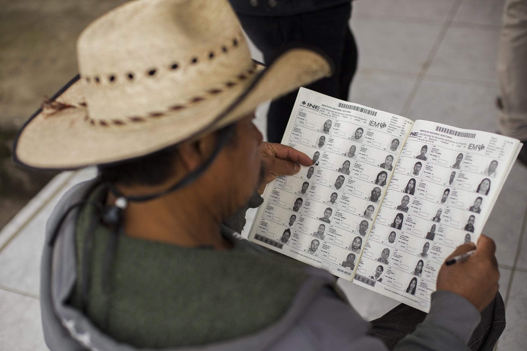 المرشحين فى الانتخابات التشريعية بالمكسيك