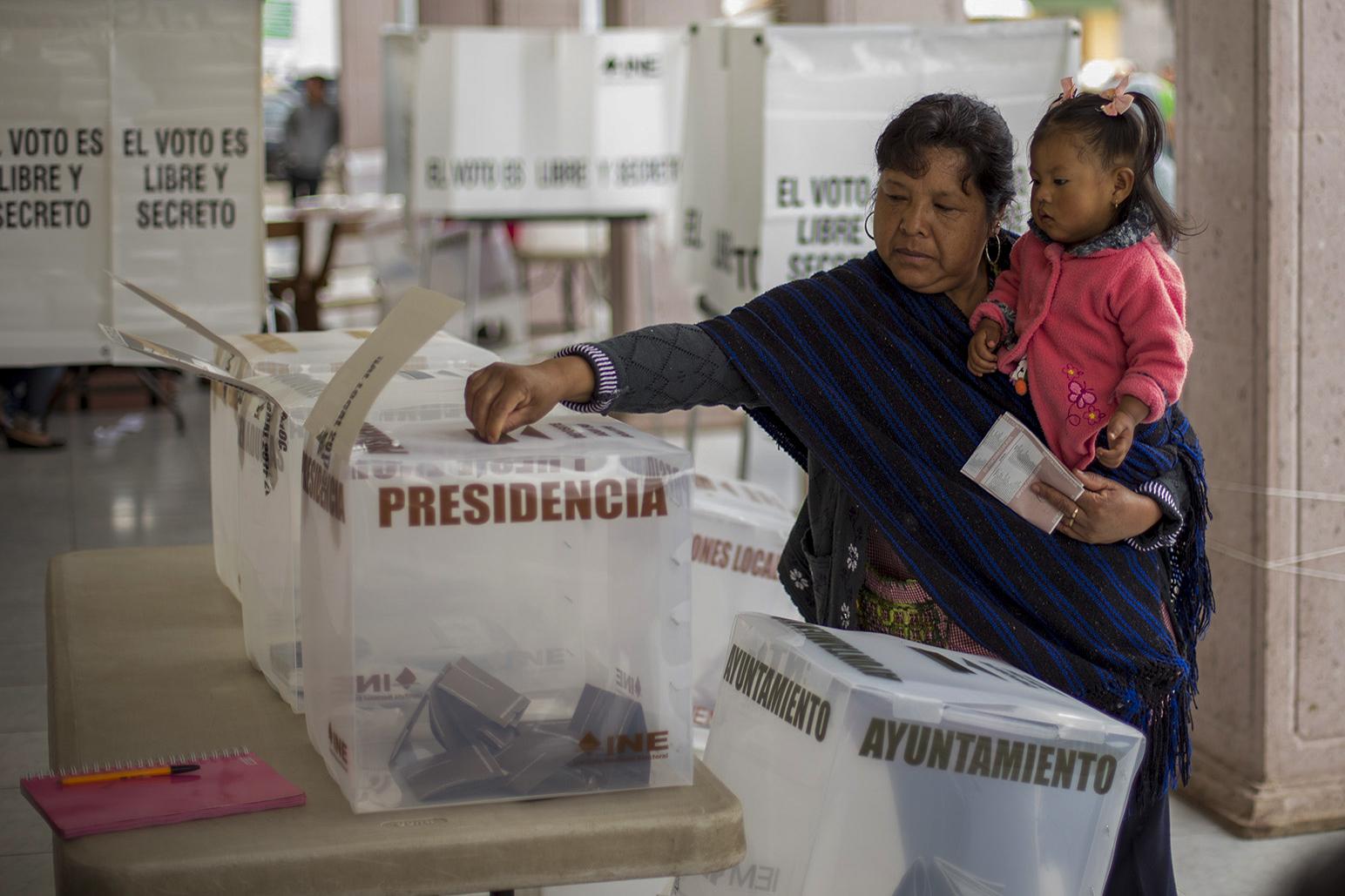 الانتخابات فى المكسيك