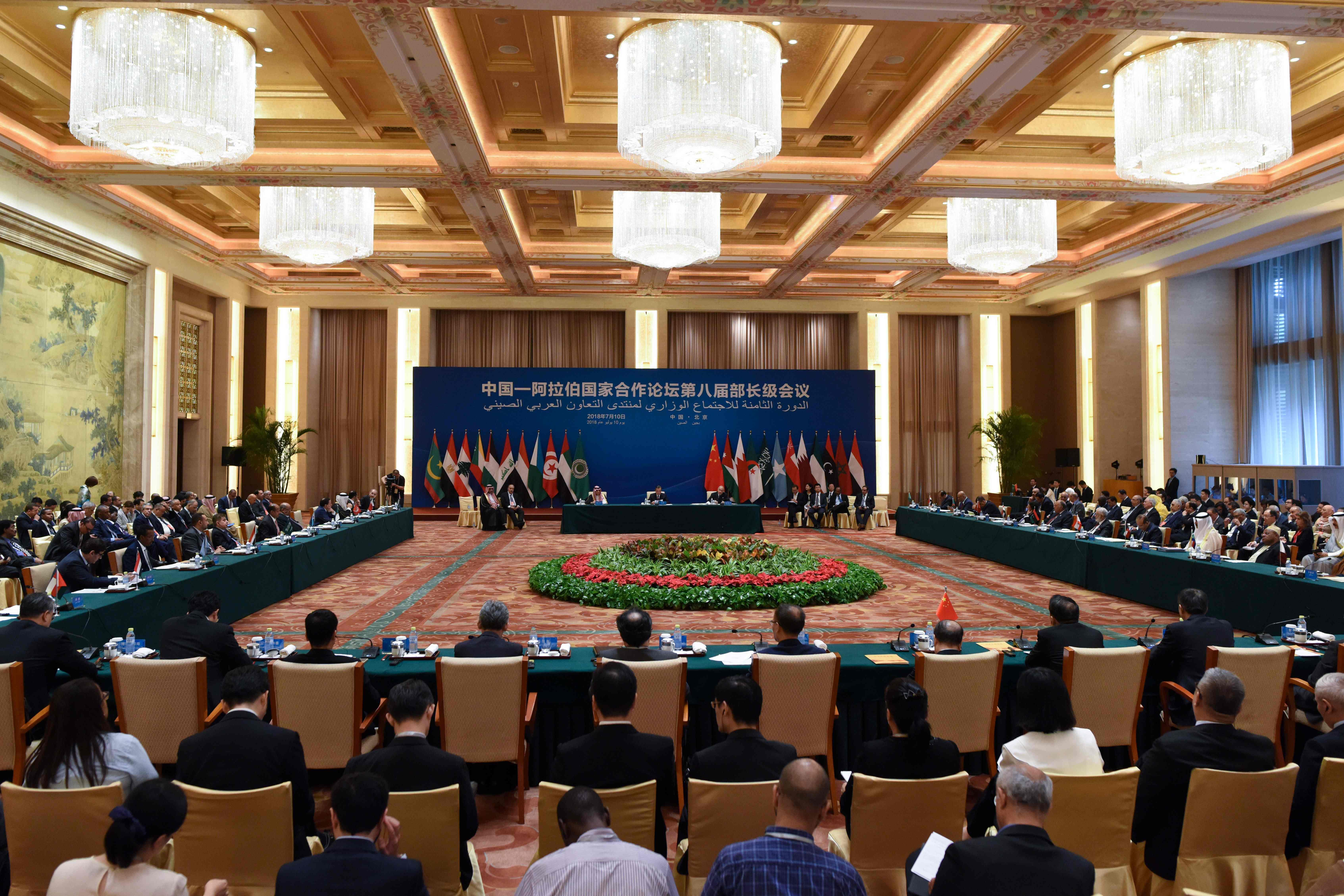 انطلاق الدورة الثامنة للاجتماع الوزارى للمنتدى الصينى العربى