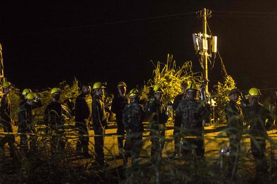 انتشار مكثف للبحرية التايلاندية بموقع الكهف