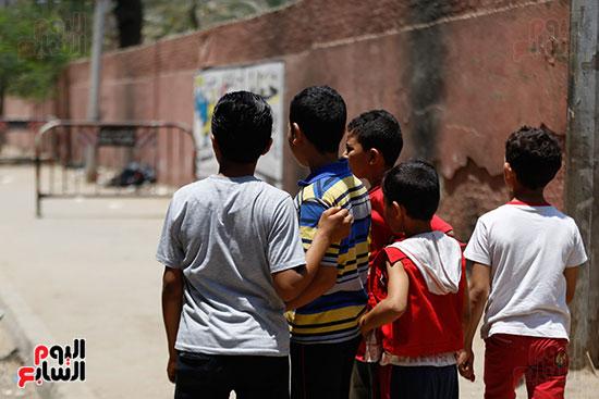 العثور على جثث ثلاث اطفال بالهرم (13)