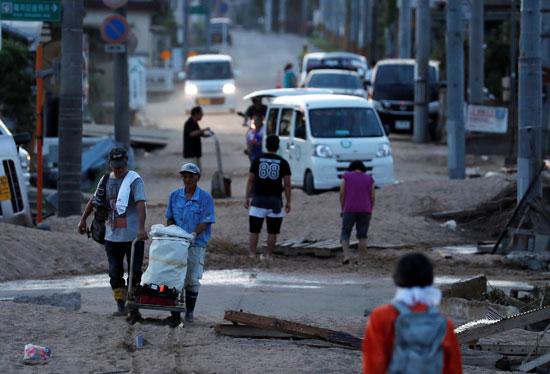 الشوارع فى اليابان