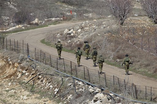 الحدود بين إسرائيل وسوريا