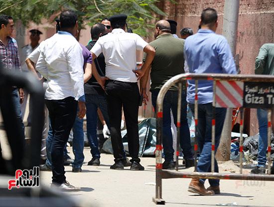 العثور على جثث ثلاث اطفال بالهرم (2)