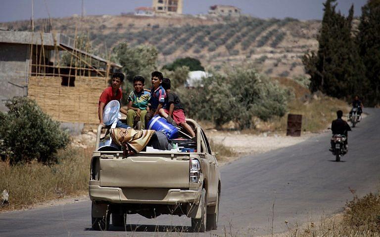 الحدود السورية مع اسرائيل