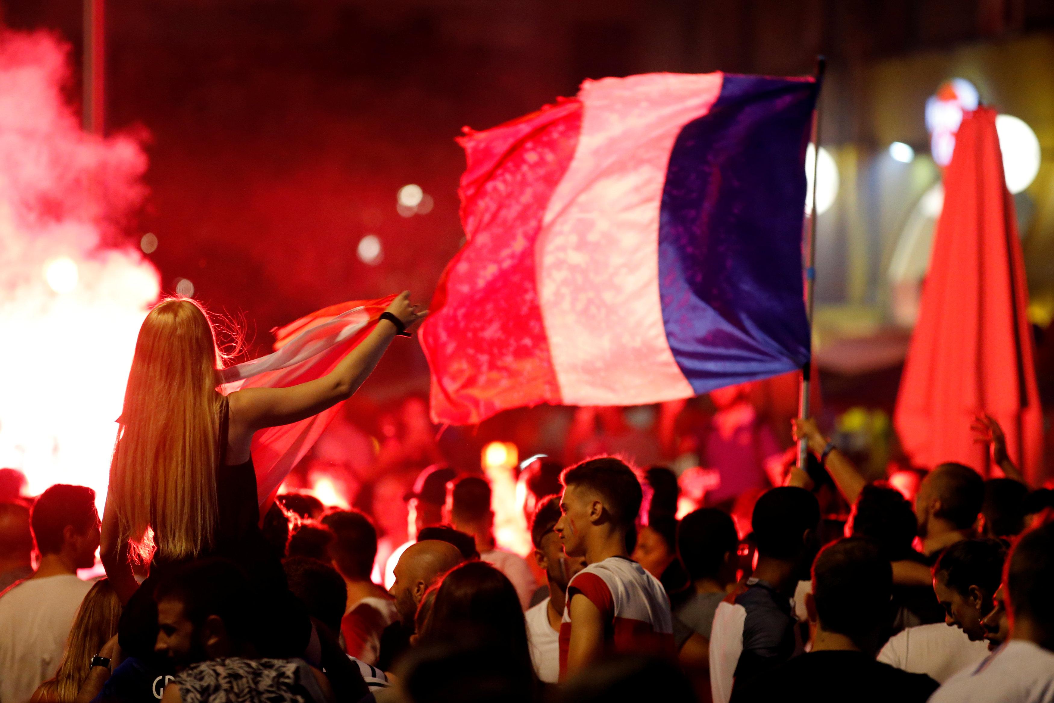 مشجعو فرنسا