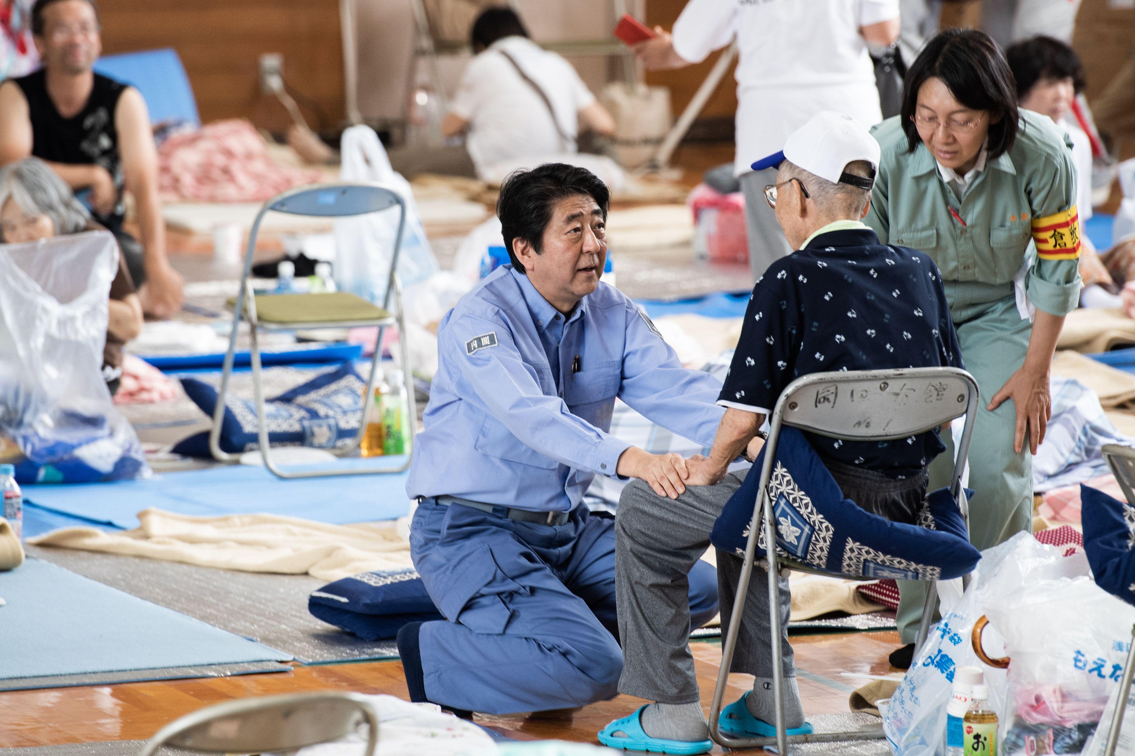 رئيس الوزرء اليابانى شينزو آبى