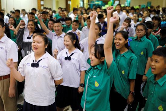 جانب من طالبات تايلاند