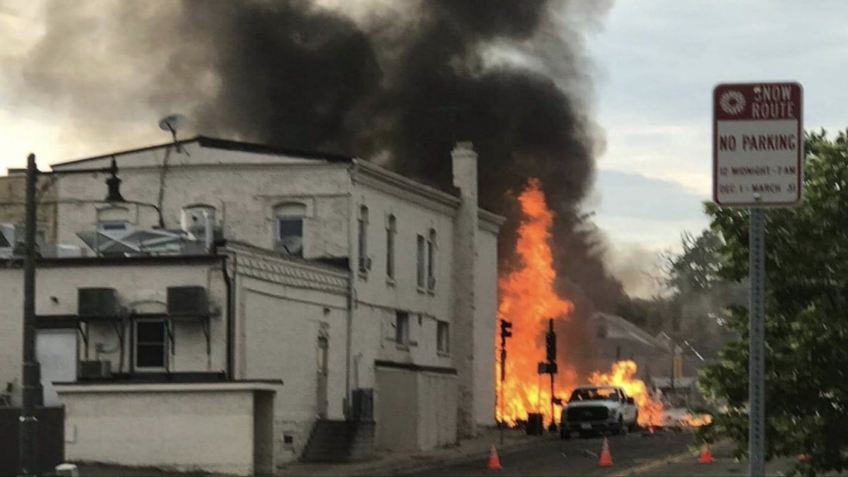 جانب من أثار التفجير