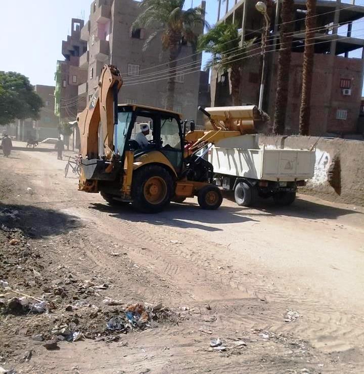 حملات النظافة بقري دار السلام (1)