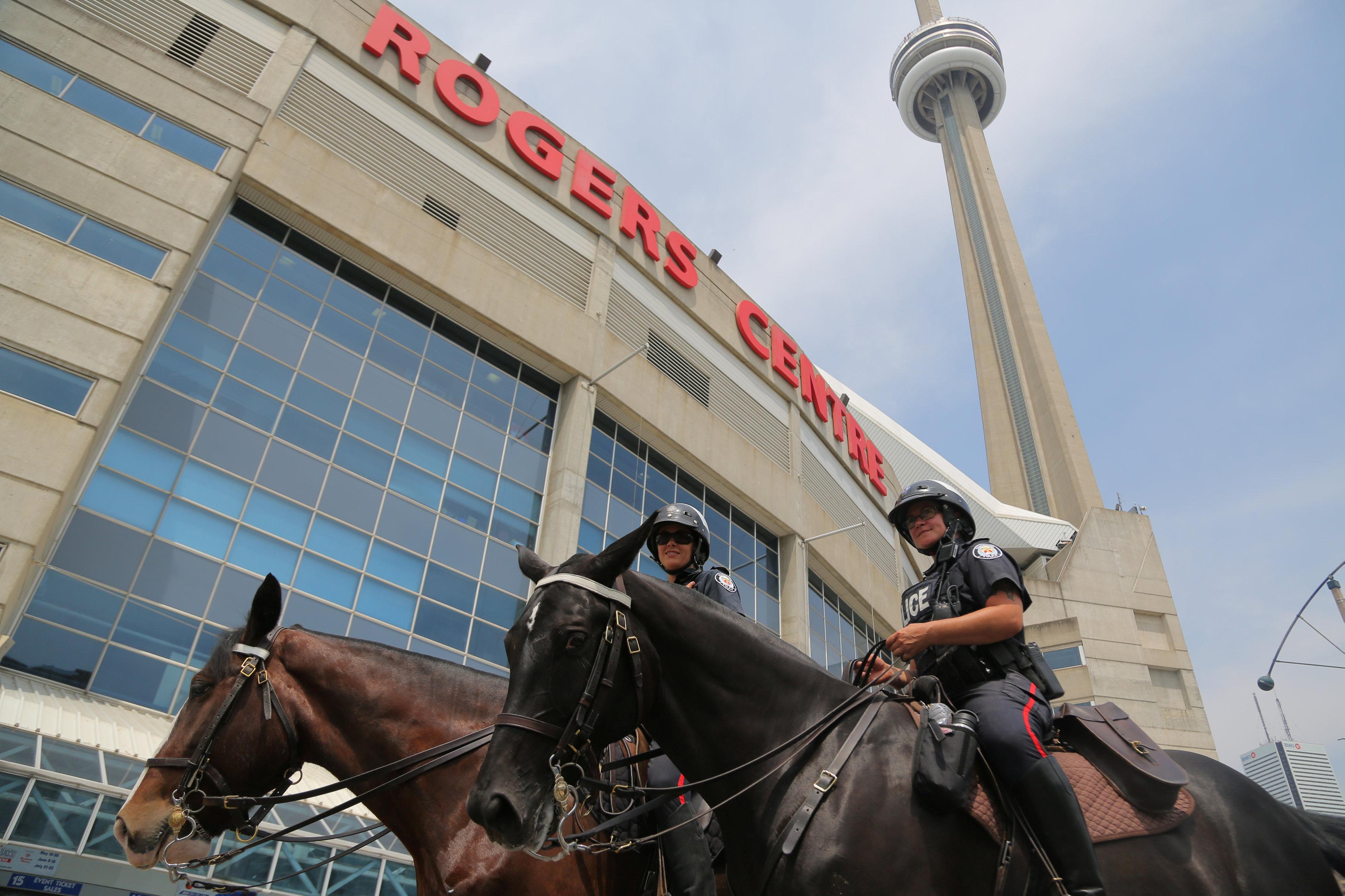 انتشار الشرطة الكندية