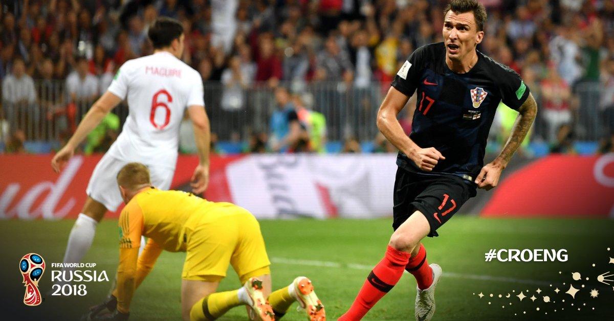 مباراة كرواتيا وانجلترا