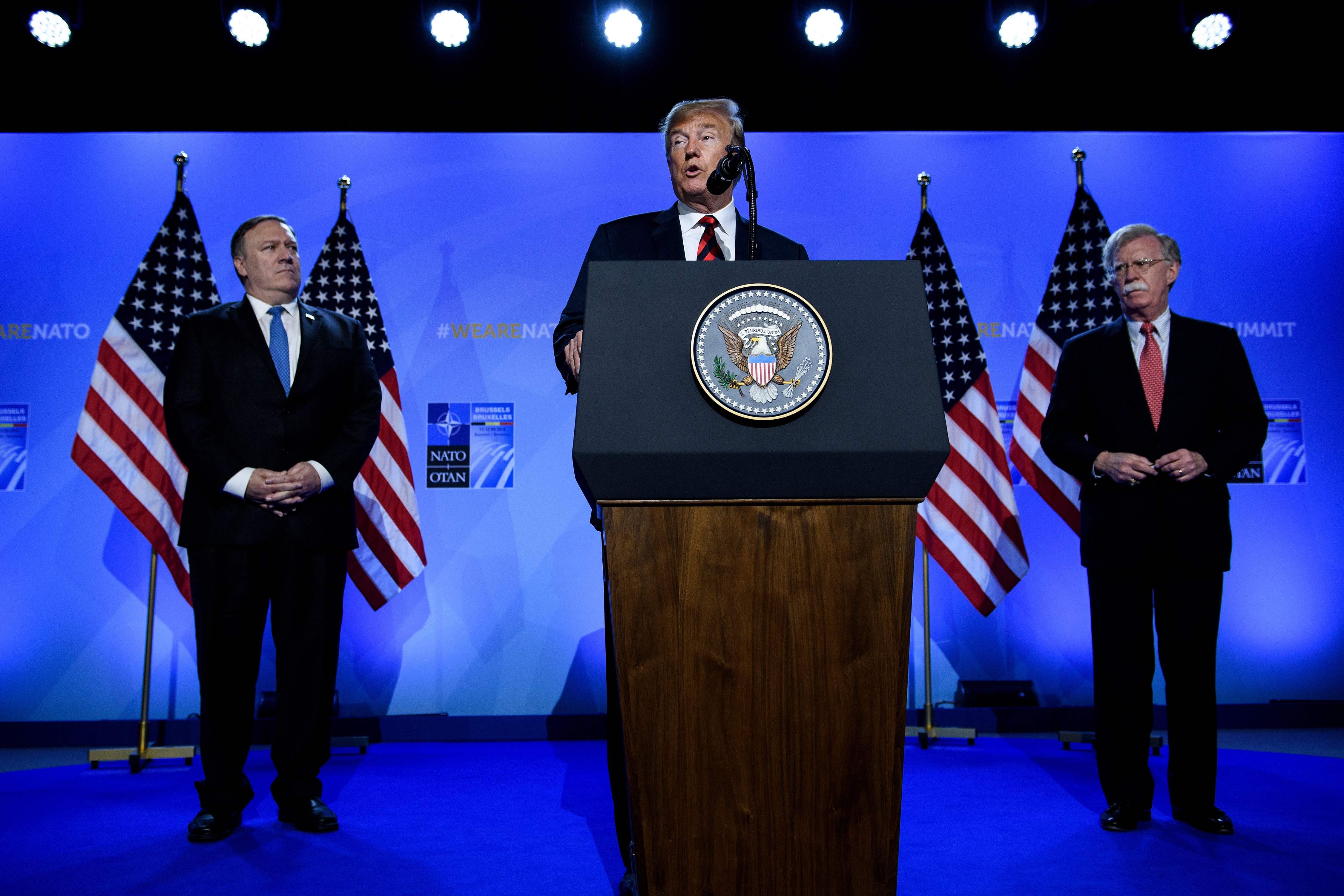 الرئيس الأمريكى فى مؤتمر صحفي