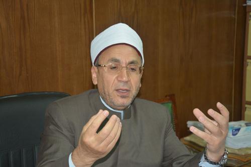 الدكتور محيي الدين عفيفى الأمين العام لمجمع البحوث الإسلامية