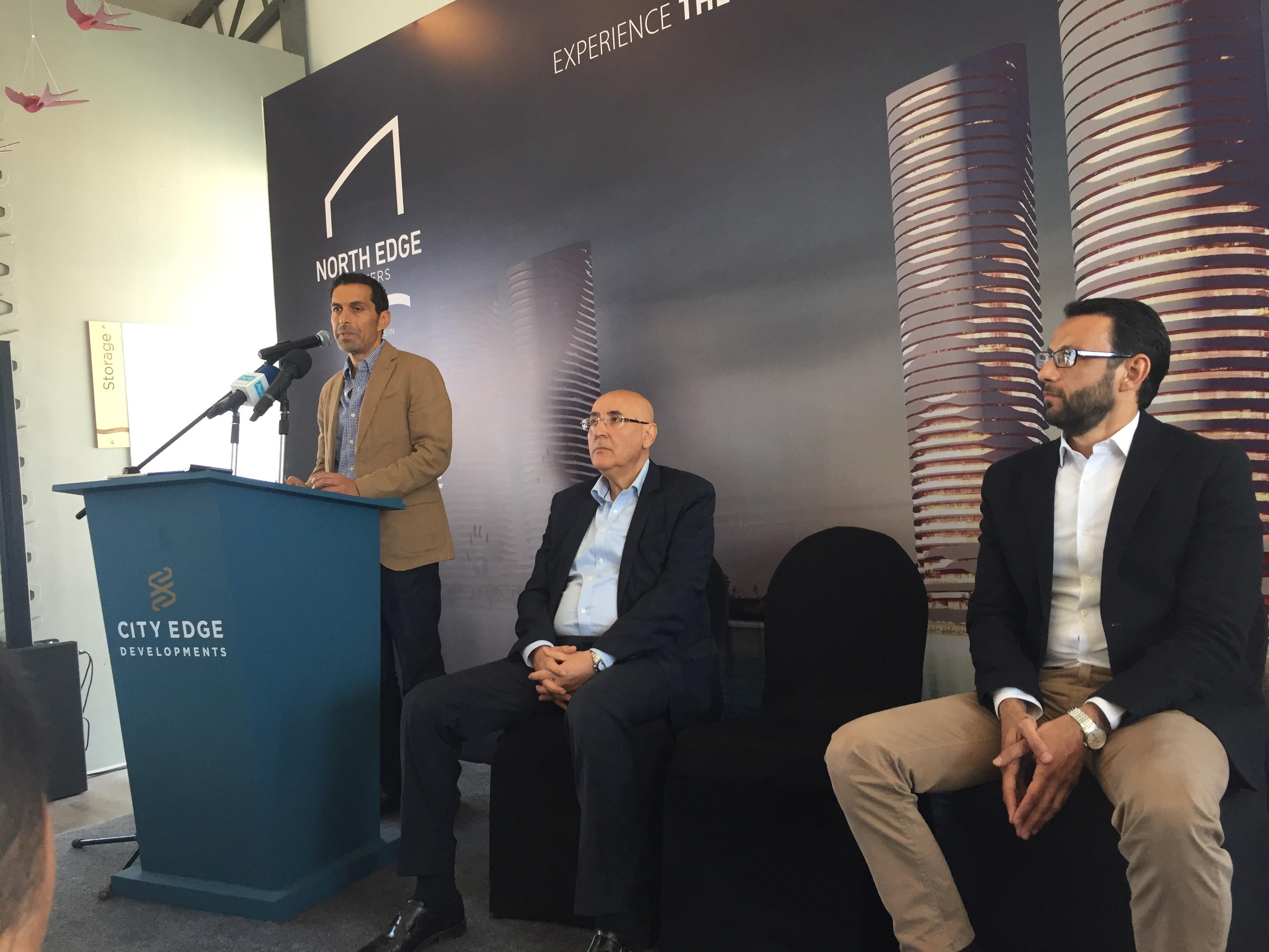مؤتمر للاعلان عن تفاصيل تسويق ابراج مدينة العلمين الجديدة (8)