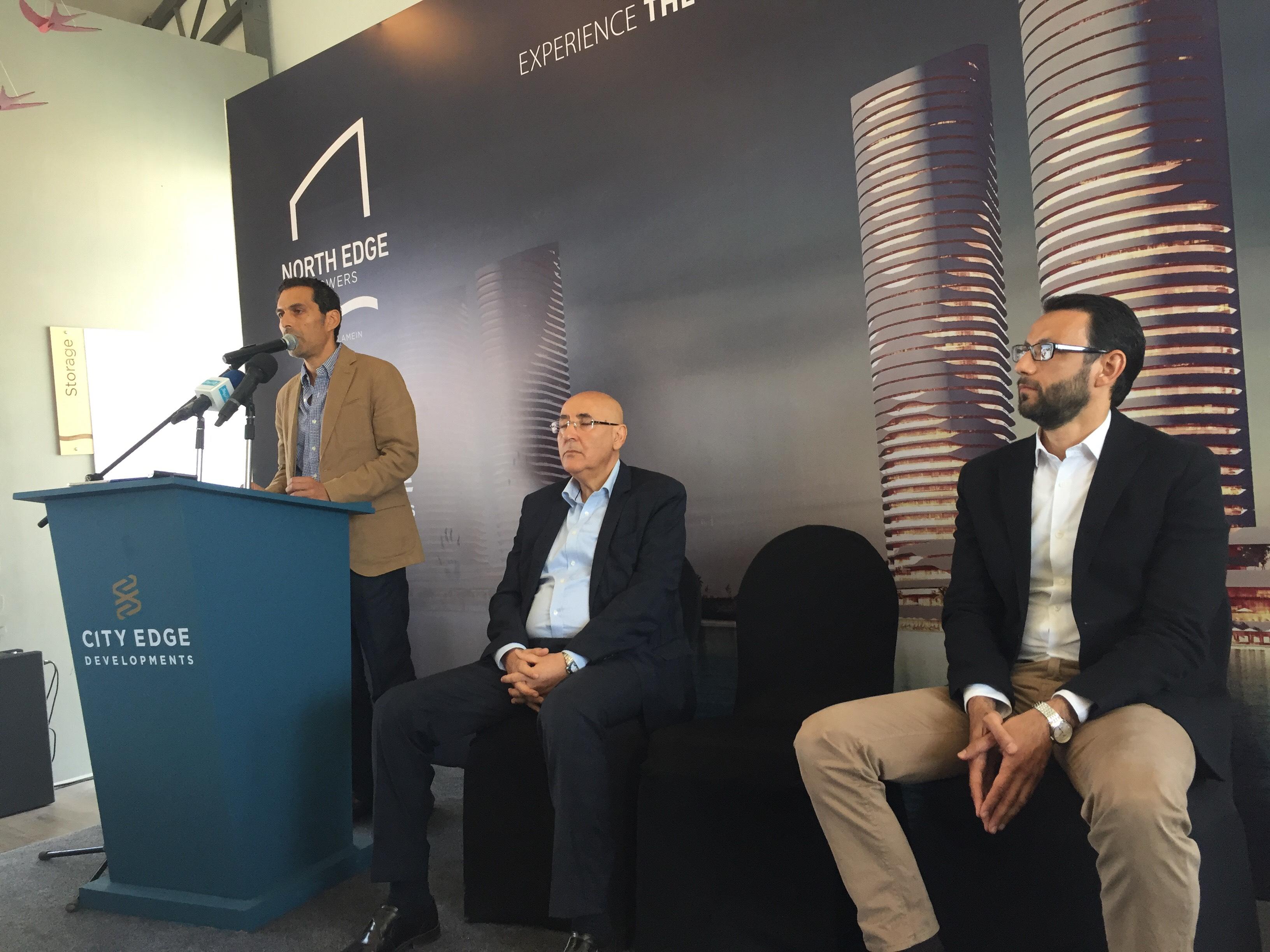 مؤتمر للاعلان عن تفاصيل تسويق ابراج مدينة العلمين الجديدة (7)