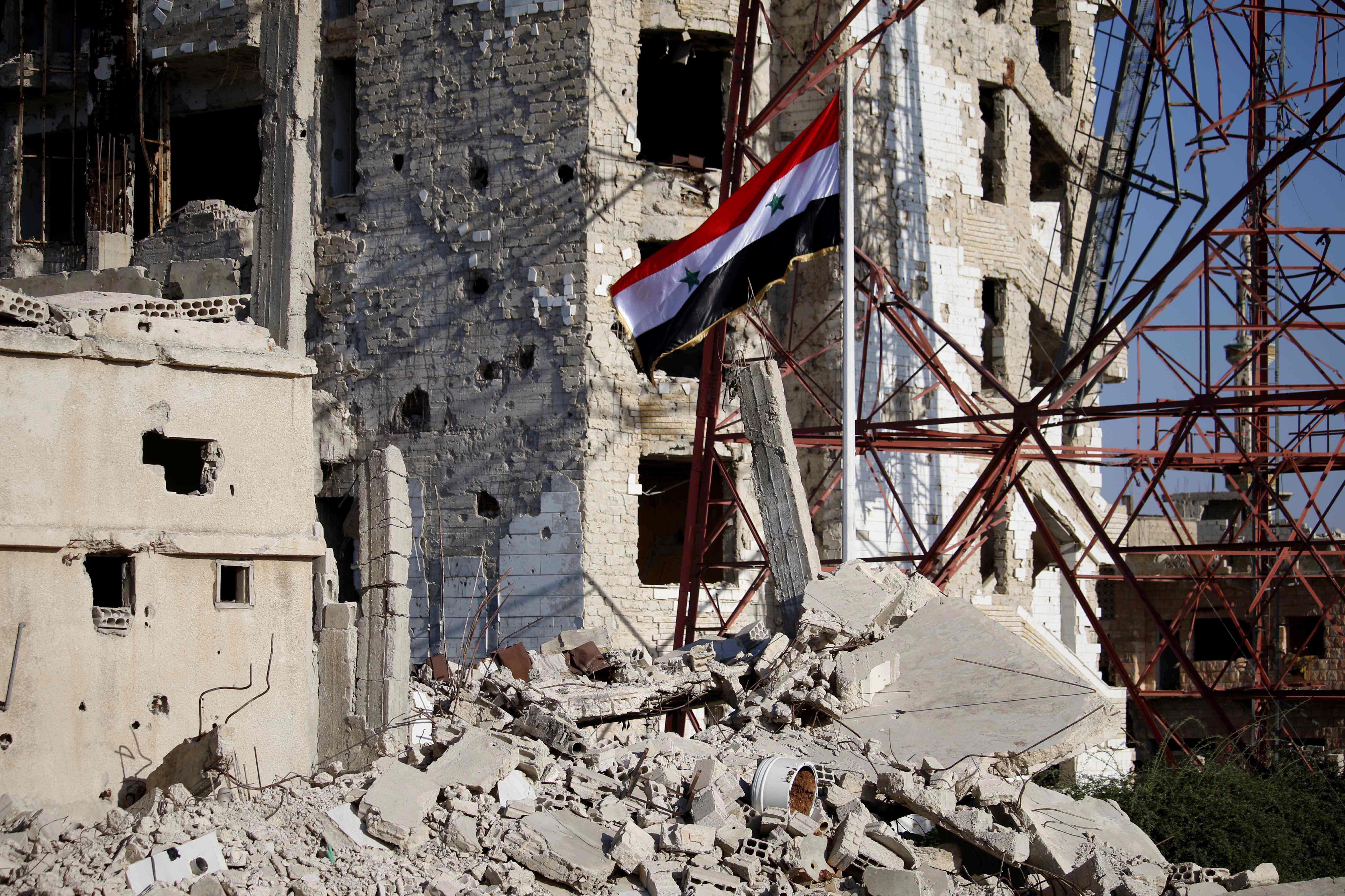 درعا بعد دخول الجيش السورى