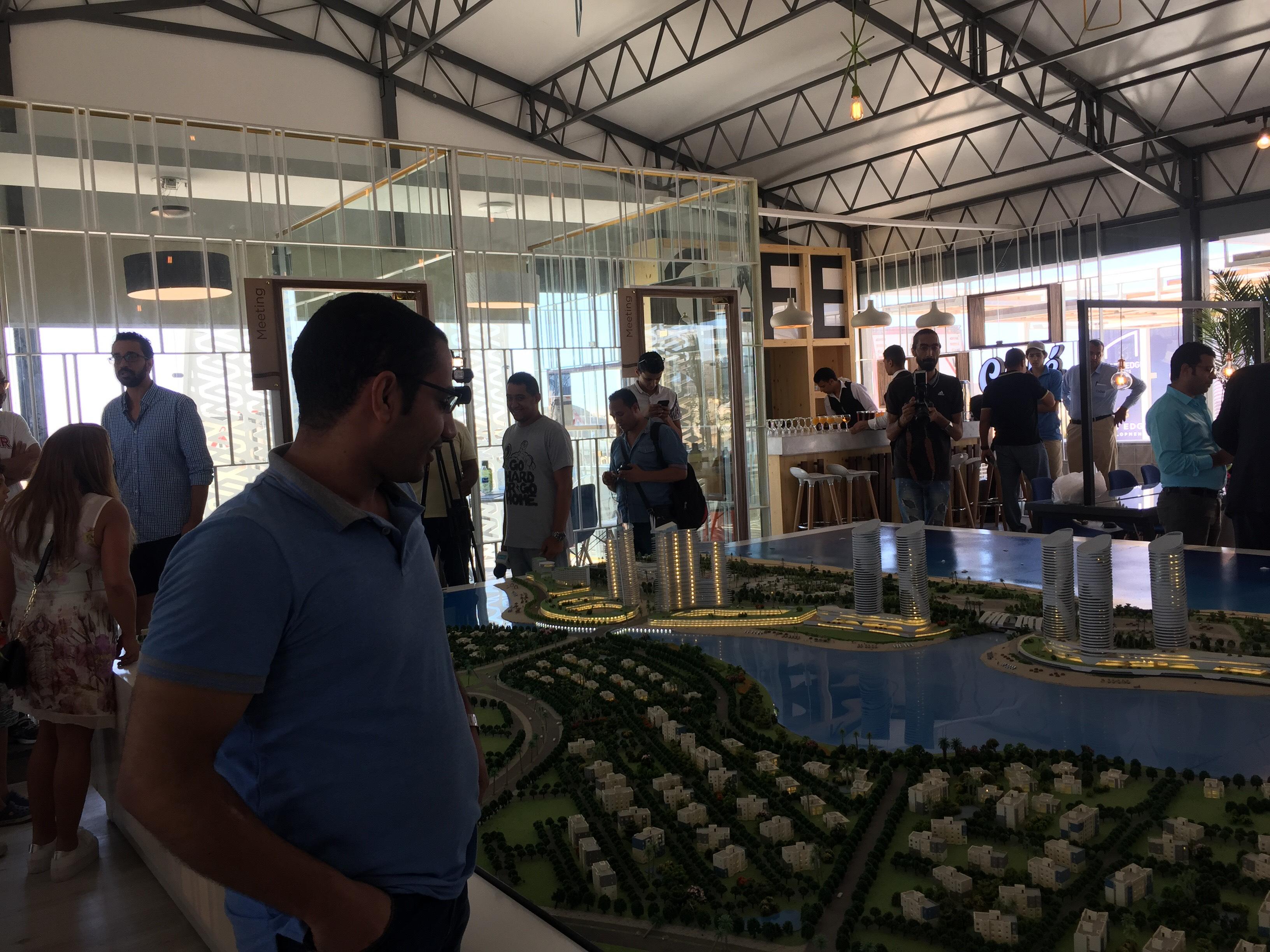 مؤتمر للاعلان عن تفاصيل تسويق ابراج مدينة العلمين الجديدة (6)