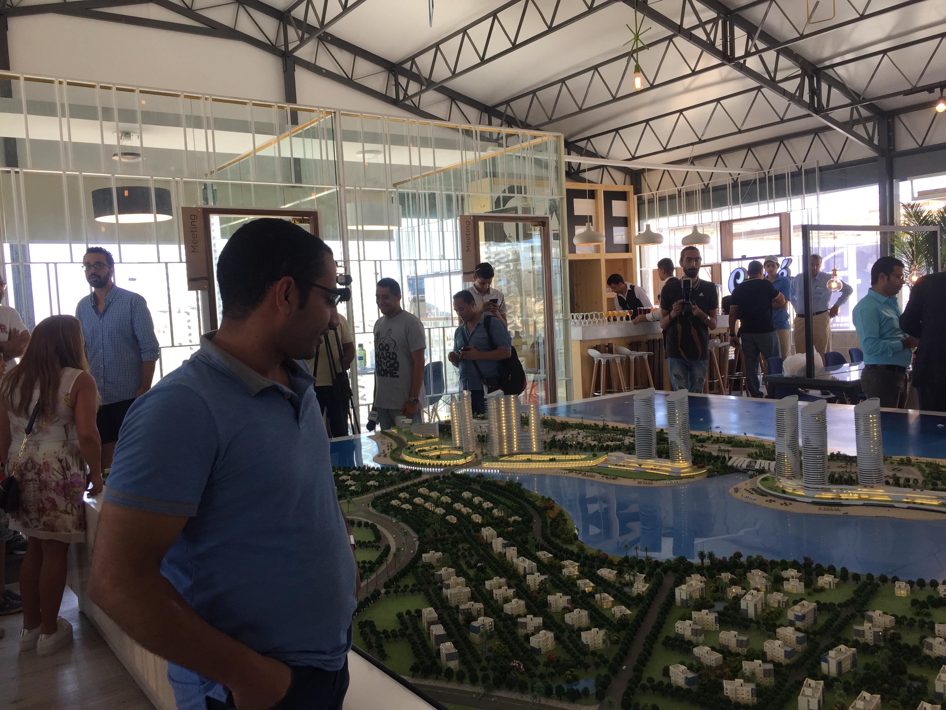مؤتمر للاعلان عن تفاصيل تسويق ابراج مدينة العلمين الجديدة (5)