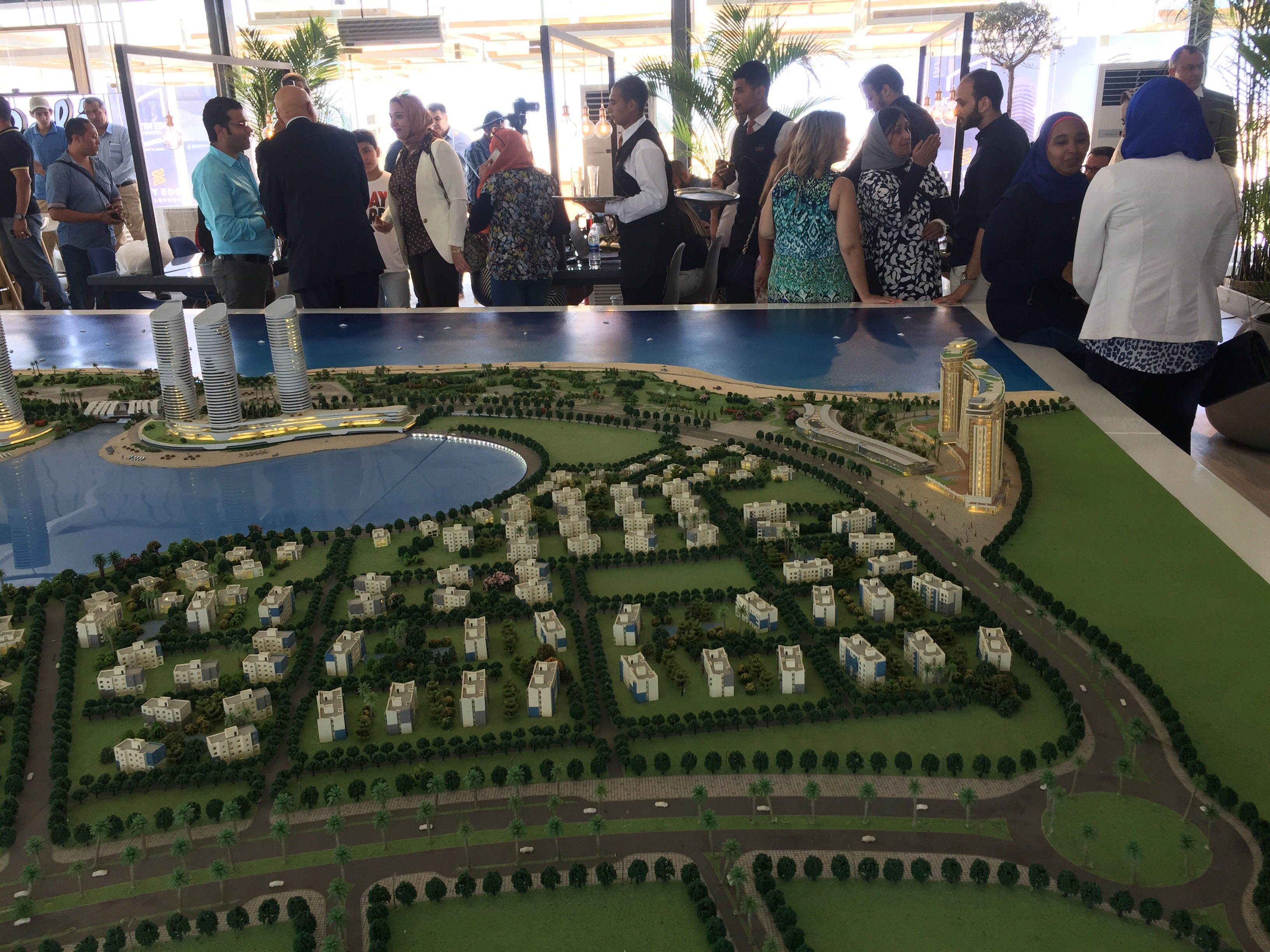 مؤتمر للاعلان عن تفاصيل تسويق ابراج مدينة العلمين الجديدة (4)