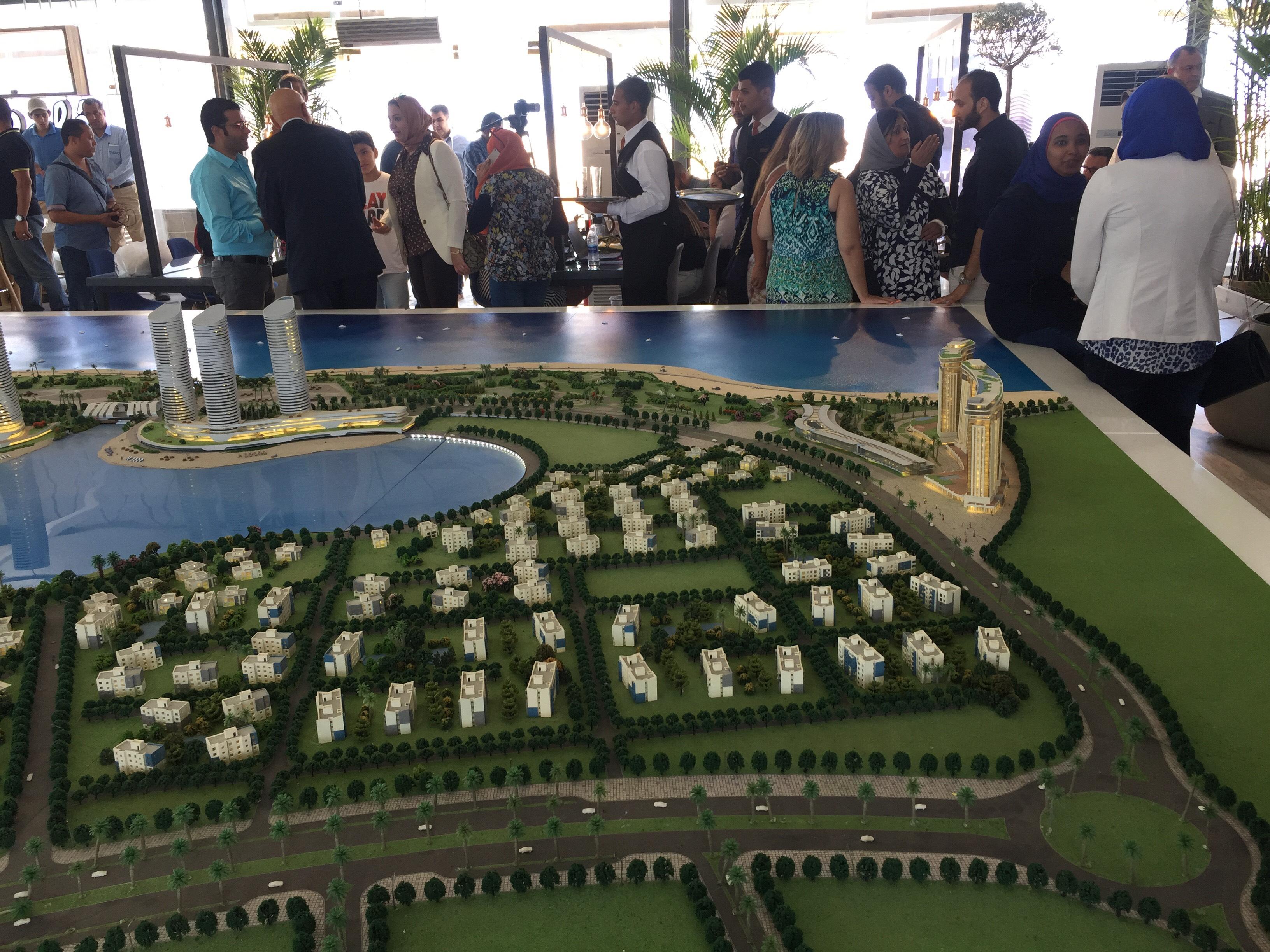 مؤتمر للاعلان عن تفاصيل تسويق ابراج مدينة العلمين الجديدة (3)