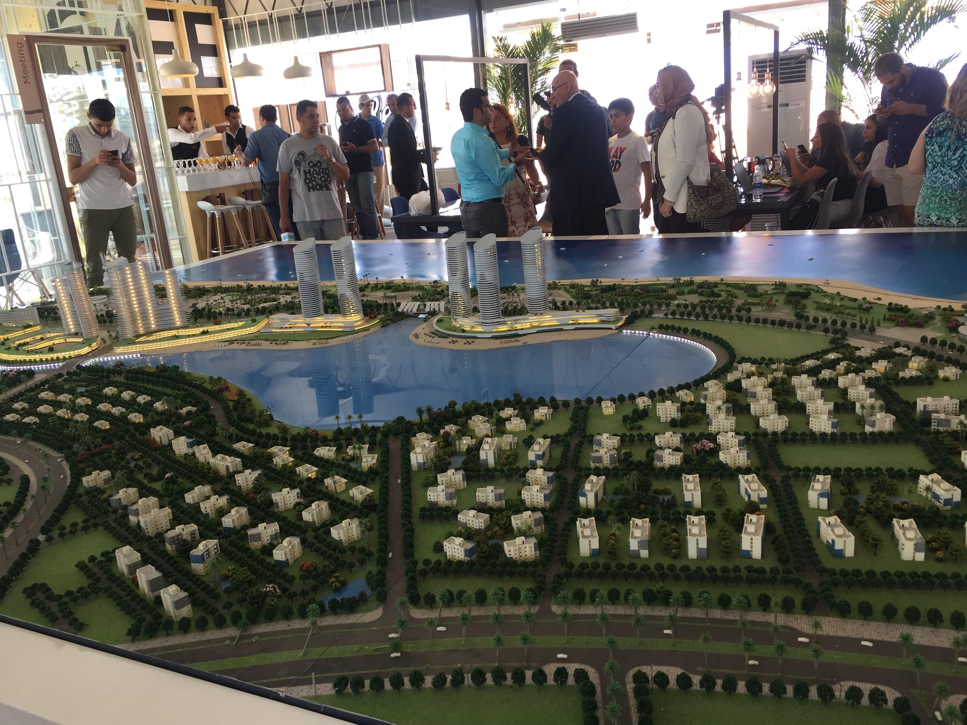 مؤتمر للاعلان عن تفاصيل تسويق ابراج مدينة العلمين الجديدة (1)