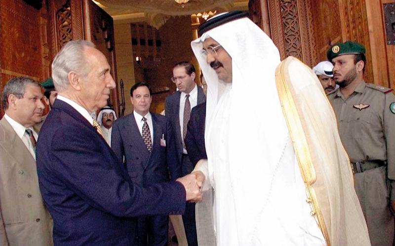 الحمدين وتاريخ من العلاقات القوية مع إسرائيل