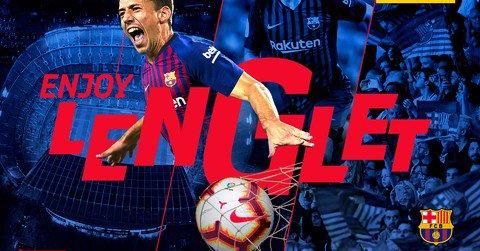 صورة لاعب برشلونة