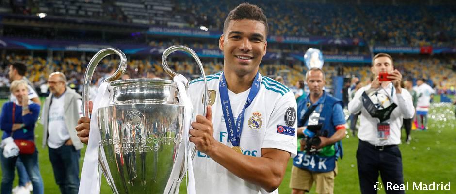 كاسيميرو لاعب ريال مدريد