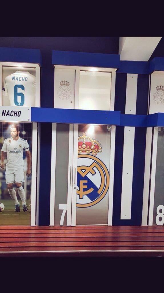 غرفة خلع ملابس ريال مدريد تخلو من صورة رونالدو