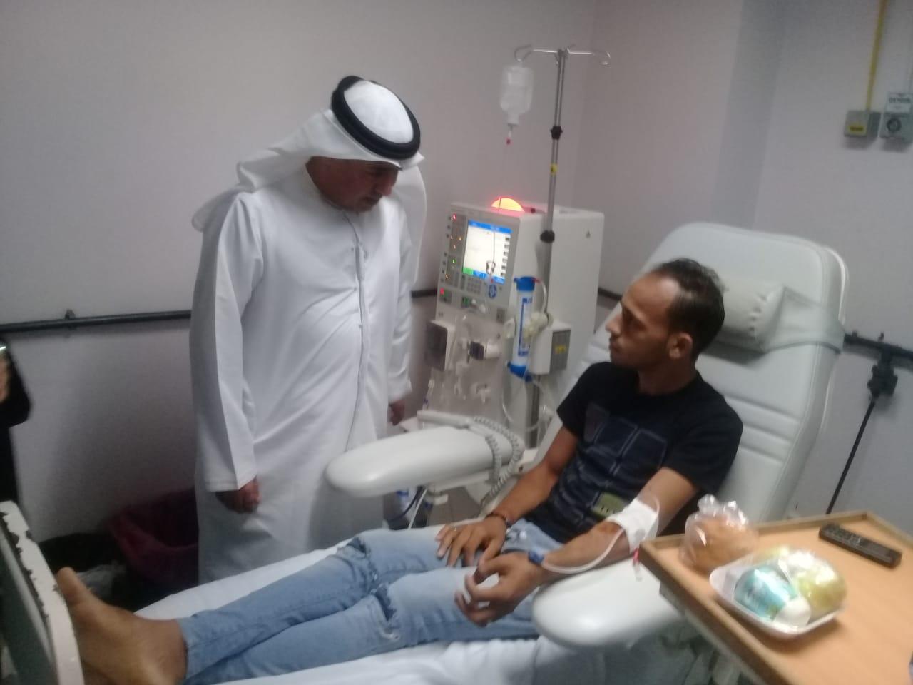 وفد من هيئة التأمين والهلال الأحمر الإماراتى (1)