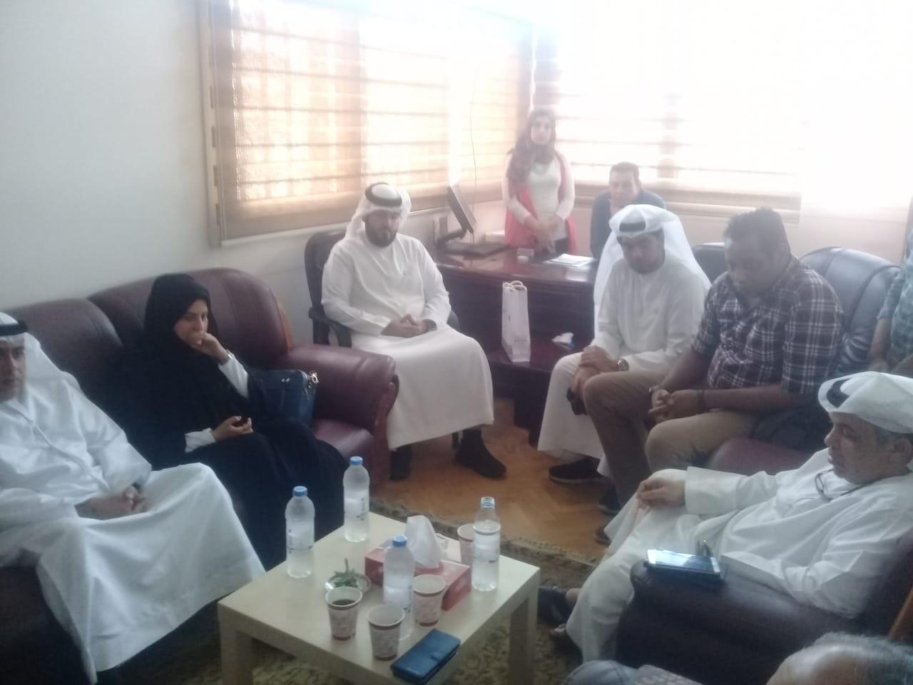 وفد من هيئة التأمين والهلال الأحمر الإماراتى (2)
