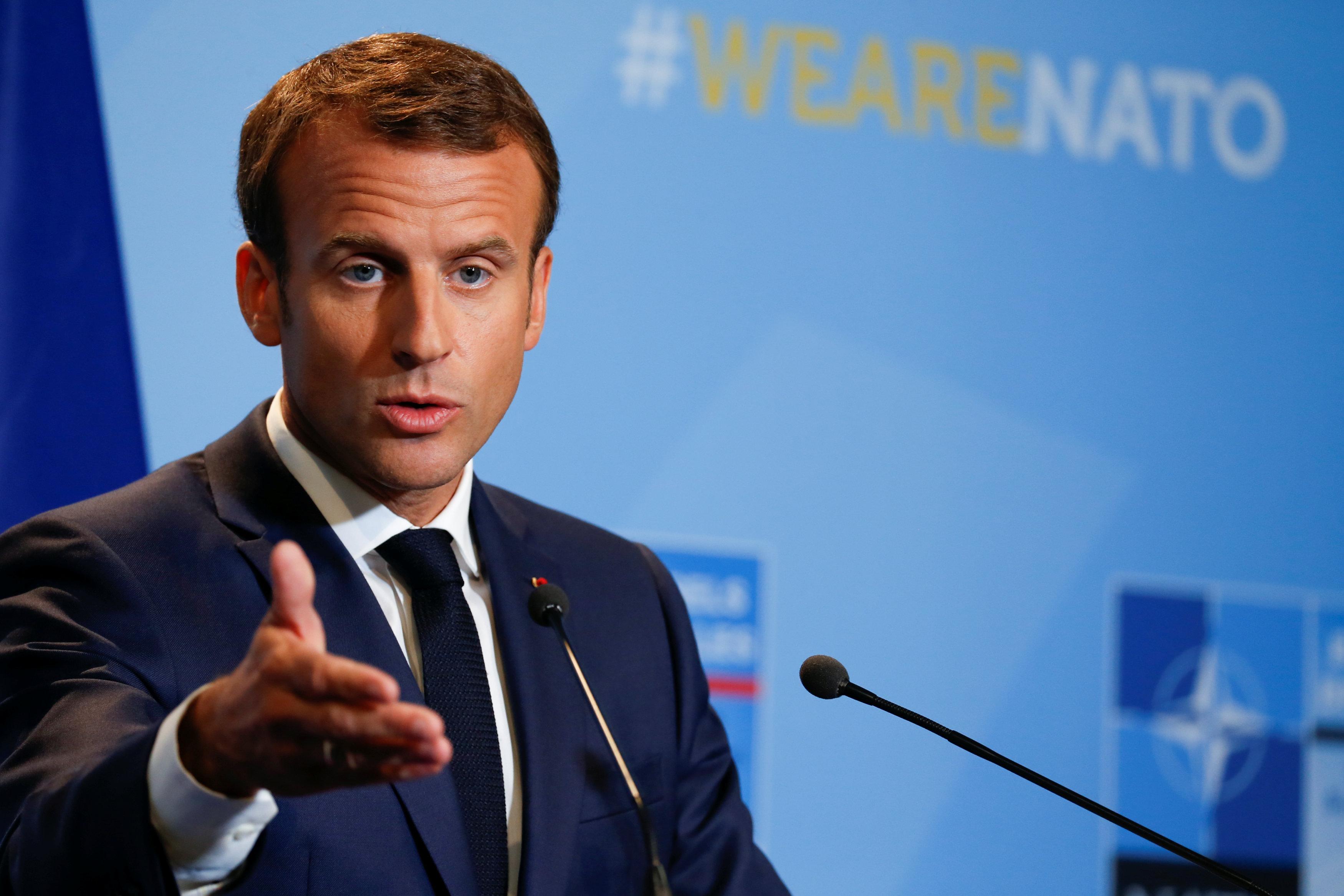 الرئيس الفرنسى