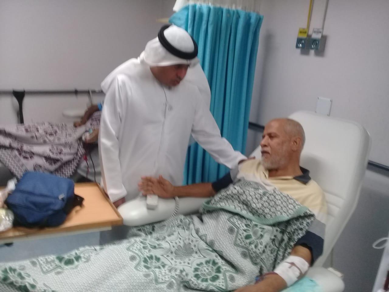وفد من هيئة التأمين والهلال الأحمر الإماراتى (6)