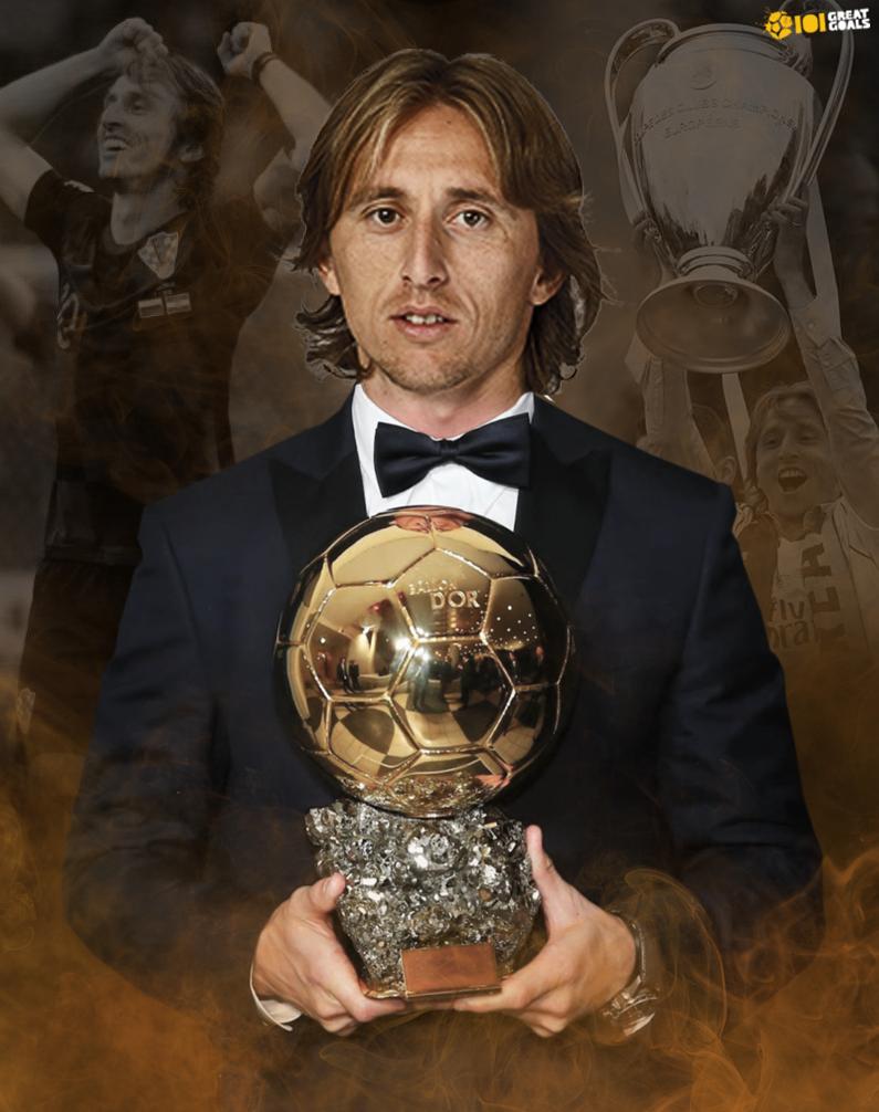 لوكا مودريتش والكرة الذهبية
