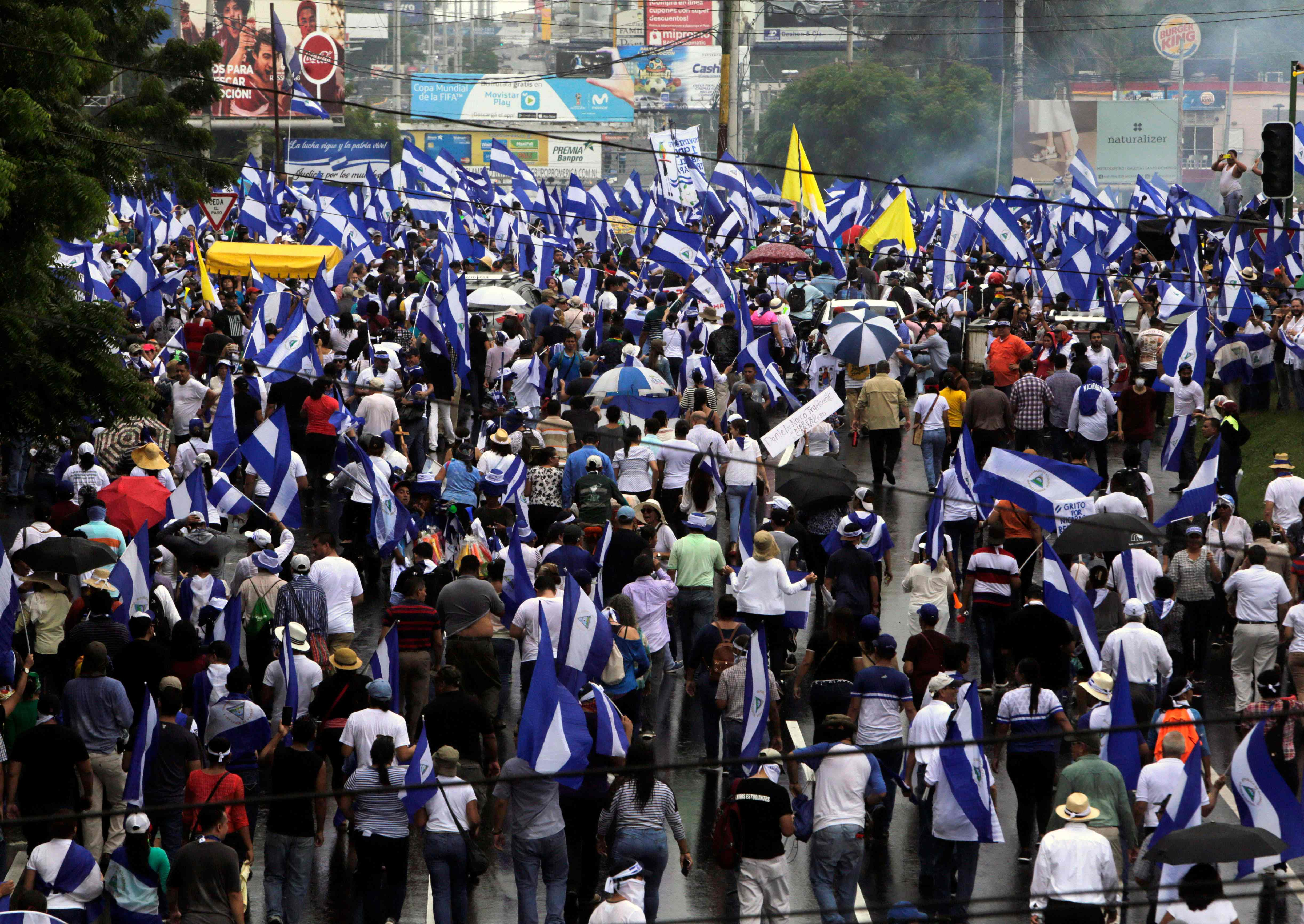 مظاهرات نيكاراجوا
