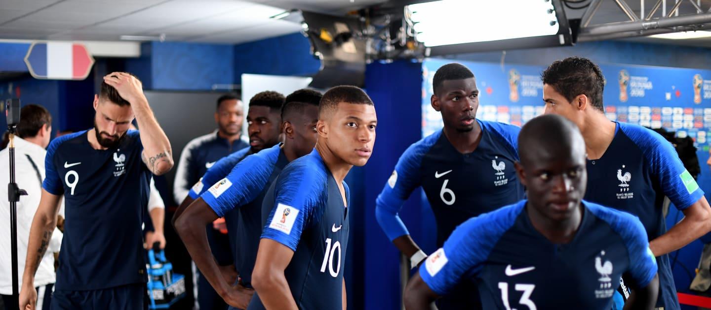 نجوم المنتخب الفرنسى
