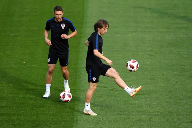 تدريبات المنتخب الكرواتى  (5)