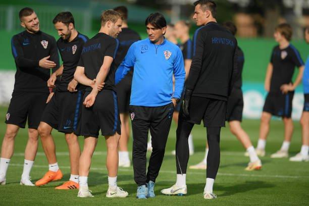 تدريبات المنتخب الكرواتى  (1)