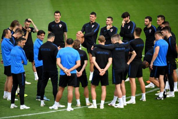 تدريبات المنتخب الكرواتى  (2)