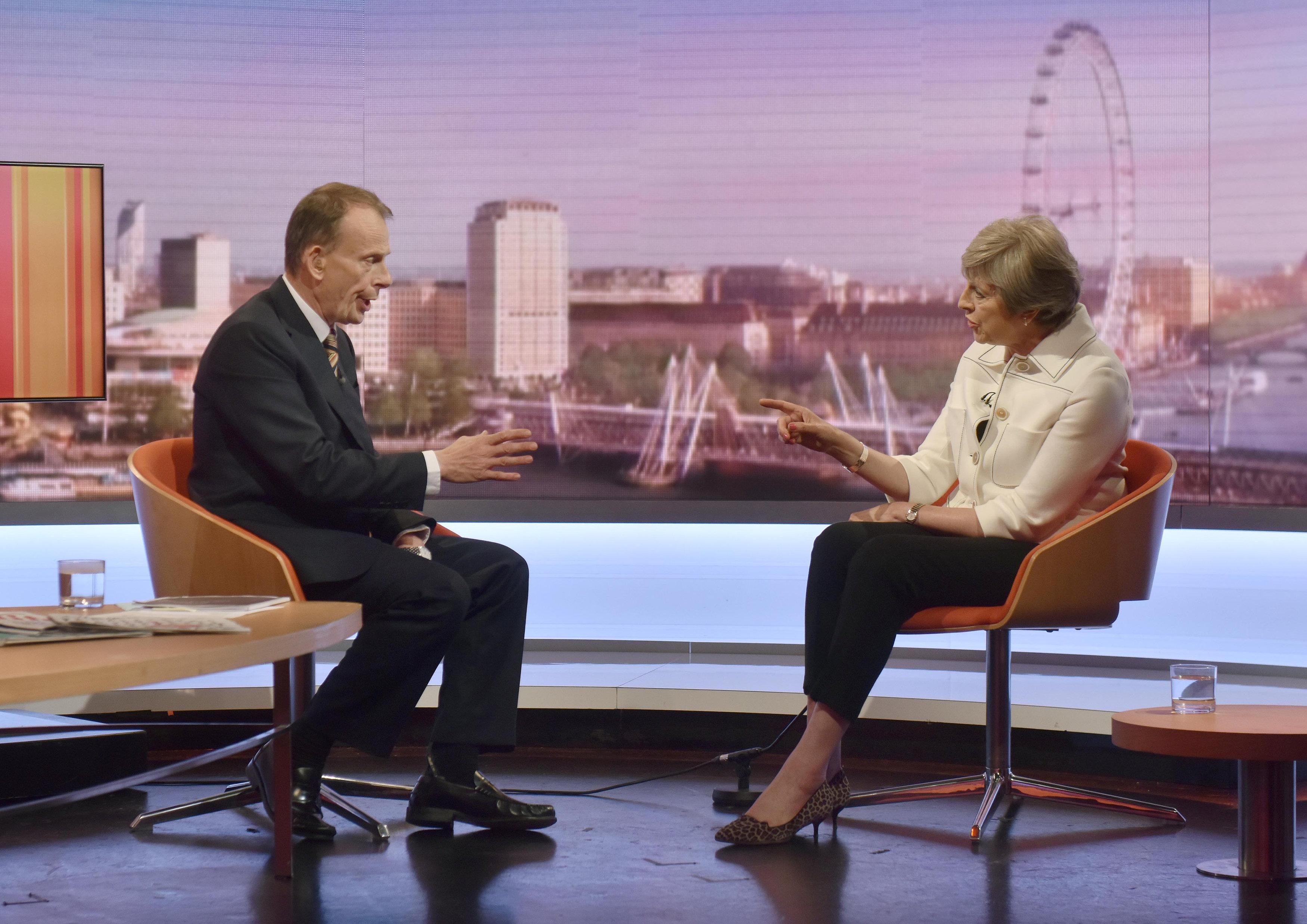 لقاء تلفزيونى لماى مع هيئة الإذاعة البريطانية