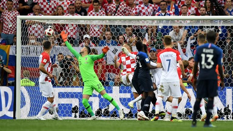 مباراة فرنسا ضد كرواتيا