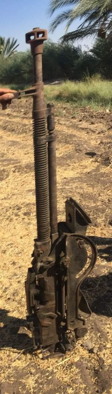 ضبط مدفع مضاد للطيران خلال حملات الأمن العام بجبال قنا